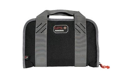 G-OUTDRS GPS DBLCOMP PISTOL CASE BLK