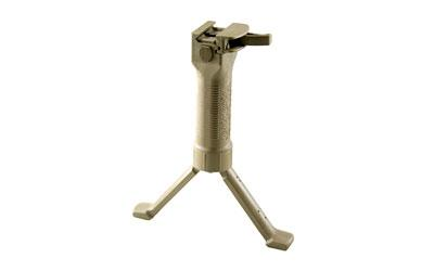 GRIP-POD MIL PLY/STL BIPOD CL V2 TAN