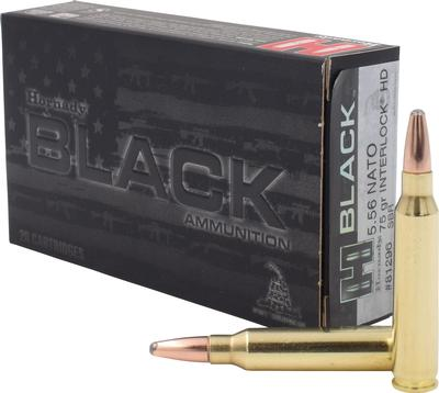 HRNDY BLACK 556NATO 75GR SBR 20/200