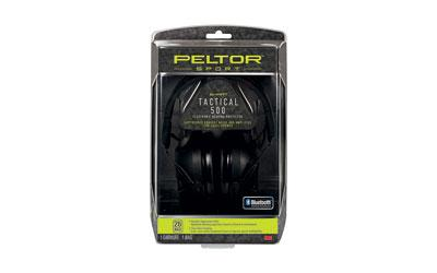 3M Peltor TAC500OTH Sport Tactical 500 Electronic 26 dB Black