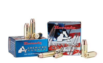 Hornady 90104 American Gunner 380 Automatic Colt Pistol (ACP) 90 GR XTP Hollow Point 25 Bx/ 10 Cs