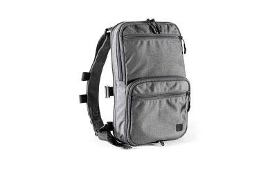 HALEY FLATPACK GREY W/STRAPS