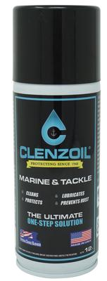 Clenzoil 2182 Marine & Tackle Aerosol Cleaner/Lubricant/Protector 12 oz
