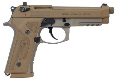 Beretta USA J92M9A3M M9 Italy Type F Single/Double 9mm Luger 5