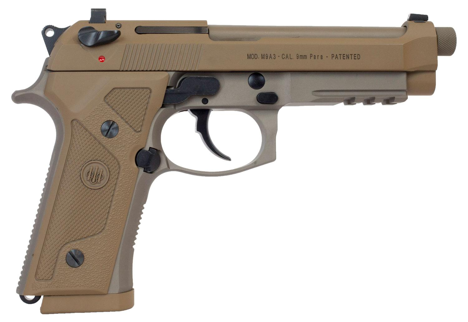 Beretta Usa J92m9a3gm M9 Italy Type G Single/Double 9mm Luger 5