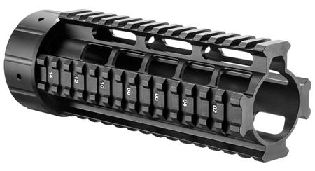 Barska Aw11736 Quad Rail Rifle Aluminum Black