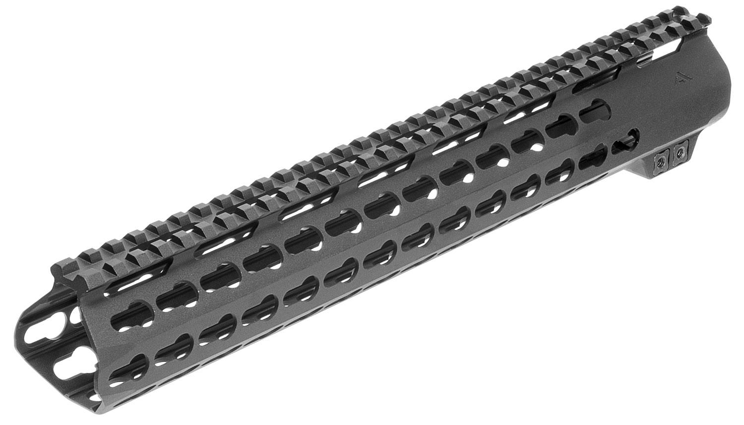 Aim Sports Mtm13h308 Ar M- Lok Handguard Rifle 6061- T6 Aluminum Black Hard Coat Anodized High 13.5