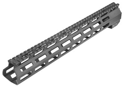 Aim Sports MTM15H308 AR M-Lok Handguard Rifle 6061-T6 Aluminum Black Hard Coat Anodized High 15
