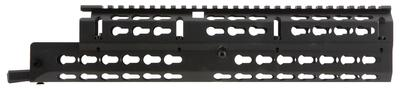 Aim Sports MKAK04 Russian AK Rifle Long Keymod Handguard 6061-T6 Aluminum Black Hard Coat Anodized