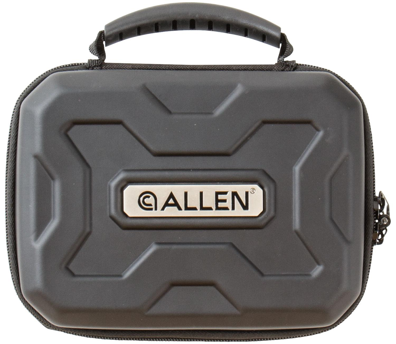 Allen 827 Exo Handgun Case Polymer Rugged Black 7