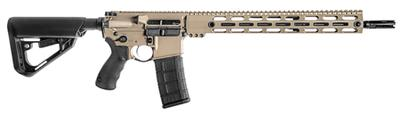 BCI 510-0001FDE SQS15 Professional Series Semi-Automatic 300 AAC Blackout/Whisper (7.62x35mm) 16