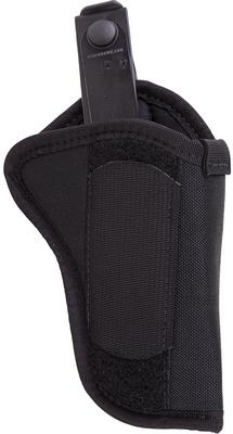 Blackhawk 40HT05BKR  Hip Holster w/Thumb Break RH Size 5 Black Nylon