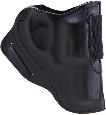 Blackhawk 420800BKR Speed Classic  S&W J Frame RH Leather Black