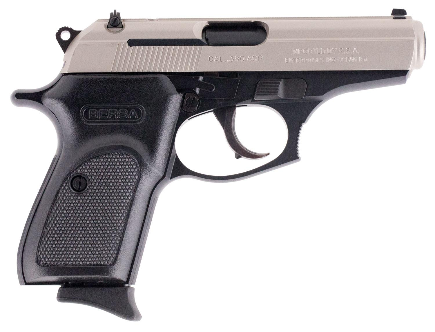 Bersa T380rdt8 Thunder 380 Reverse Duo- Tone Single/Double 380 Automatic Colt Pistol (Acp) 3.5