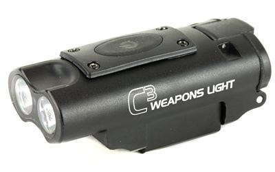 LUCID C3 WEAPONS LIGHT 300 LUMEN BLK