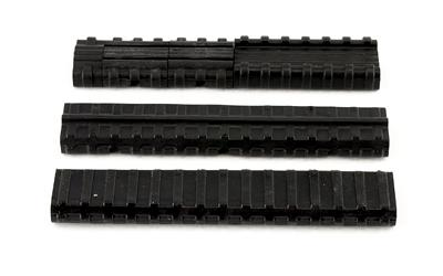 MANTA CARBINE LENGTH RAIL KIT BLK