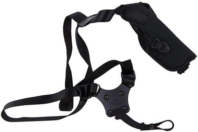Blackhawk 40VH00BKR Vertical Shoulder Holster 40VH00BKR Adjustable Black Cordura