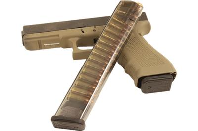 ETS MAG FOR GLK 9MM 31RD SMOKE
