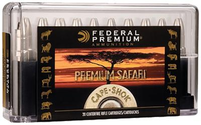 Federal P416T1 Cape-Shok 416Rigby Trophy Bonded Bear Claw 400 GR 20Box/10Case
