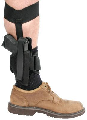 Blackhawk 40AH00BKL Ankle Holster 40AH00BKL 0 Black Knit Fabric