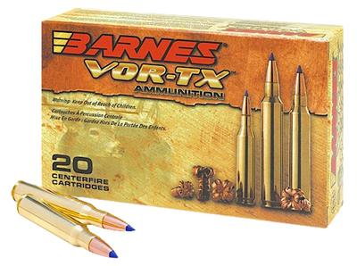 Barnes 21575 VOR-TX 338 Winchester Mag 210GR Tipped TSX Boat Tail 20Box/10Case