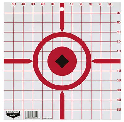 World Of Target 37210 Rigid Paper Target Sight-In 12