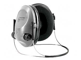 3m Peltor 97043 Tactical 6s Behind The Head Electronic Muffs 19 Db Black/Gray