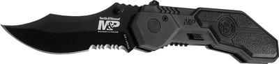 Smith & Wesson Knives SWMP1BS MP Black Blade Serrated