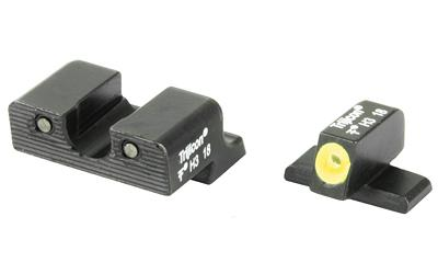 Trijicon SP101Y HD NS Springfield XD/XD(M) F/R Grn Tritium Yellow Front Outline