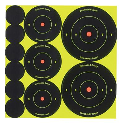 Birchwood Casey 35608 Shoot-N-C Bull's-Eye Packs 121 Pac