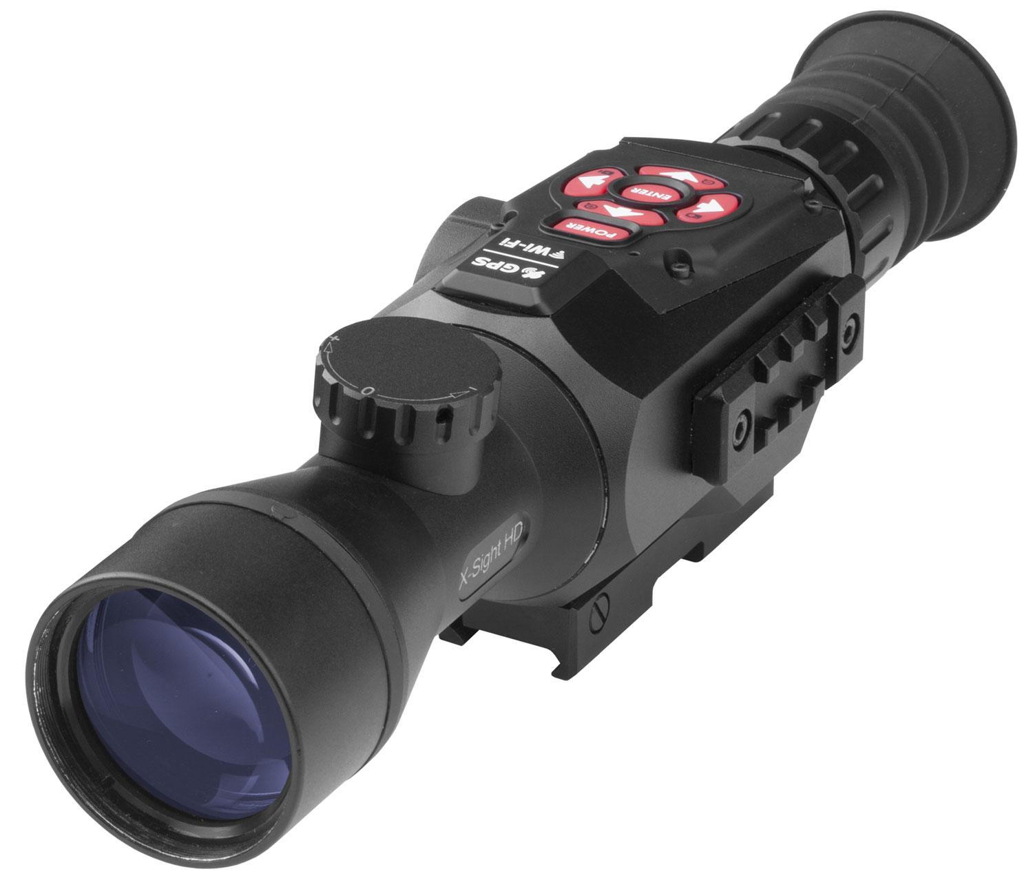 Atn Dgwsxs314z X- Sight Ii Scope Smart Hd Optics Gen 3- 14x 50mm 460 Ft @ 1000 Yds Fov
