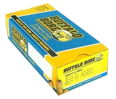 Buffalo Bore Ammo 16B/20 Handgun 41 Rem Mag Hard Cast Keith SWC 230GR 20Box/12Cs