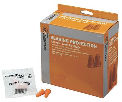 Champion Targets 40959 Foam Earplugs Orange