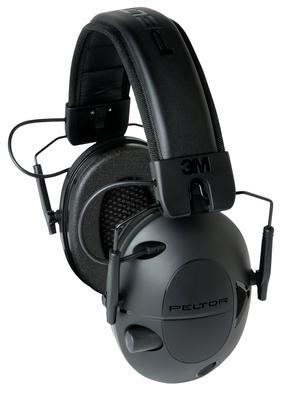 3M Peltor 92493 Tactical 100 Earmuff 22 dB Black Battery Operated