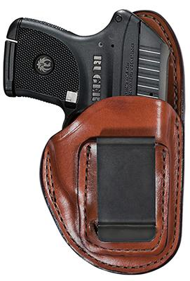 Bianchi 25939 Professional Ruger LC9 Medium Frame Leather Tan