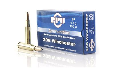 PPU 308WIN SP 150GR 20/500