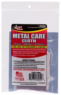PRO-SHOT METAL CARE CLOTH