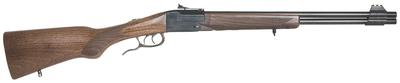 Chiappa Firearms 500097 Double Badger Folding Over/Under 22 Long Rifle/410 Gauge Wood Stock Blued