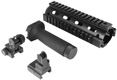 Aim Sports ACAR01 AR-15 Combo Kit V1 AR-15/M16/M4 Aluminum 6.5