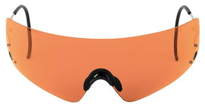 Beretta OCA800020407 Dedicated Metal Frame Shooting Glasses Orange Lenses
