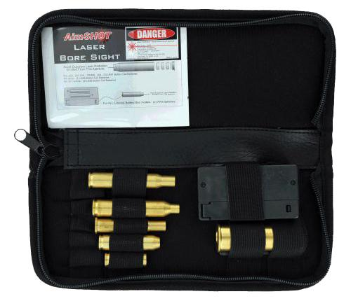 Aimshot Ktrifle Boresight Rifle Kit Laser Universal Rifle Calibers Brass