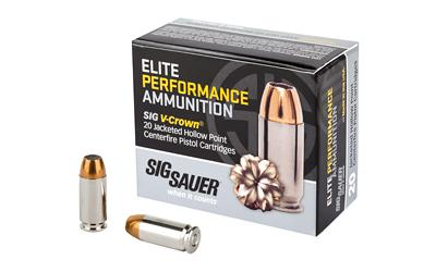 Sig Sauer E40SW120 Elite Performance 40 S&W 165 GR JHP 20 Bx/ 10 Cs