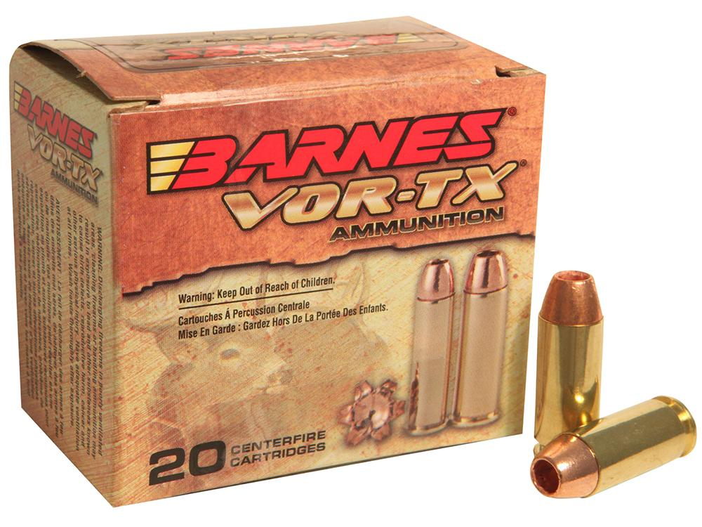 Barnes 31180 Vor- Tx Handgun Hunting 10mm 155 Gr Xpb 20bx/10cs
