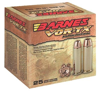 Barnes 22037 VOR-TX Handgun Hunting 41 Remintgon Magnum 180 GR 20Box/10Case