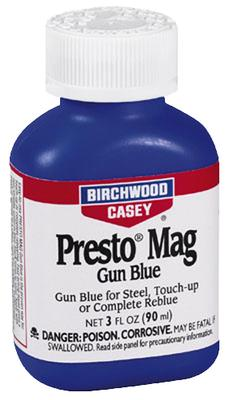 Birchwood Casey 13525 Presto Blue Magnum Blueing Liquid 3 oz