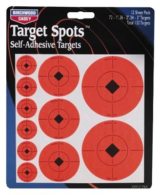 Birchwood Casey 33928 Target Spots Assortment 72-1