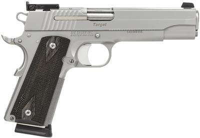 SIG 1911TGT 45ACP 8RD STS AS BLKWD