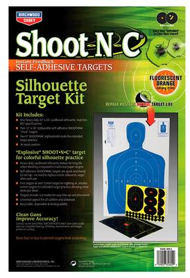 Birchwood Casey 34602 Shoot-N-C Silhouette Target Kit 1 Kit