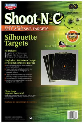 Birchwood Casey 34605 Shoot-N-C Silhouette 12