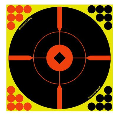 Birchwood Casey 34806 Shoot-N-C Bull's-Eye 6 Target